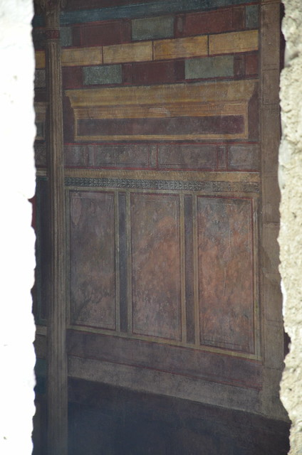 In situ wall fresco, Pompeii