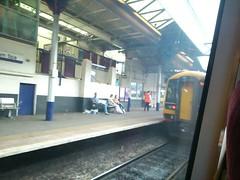 Cheltenham Spa Station - East Midlands Trains Class 158