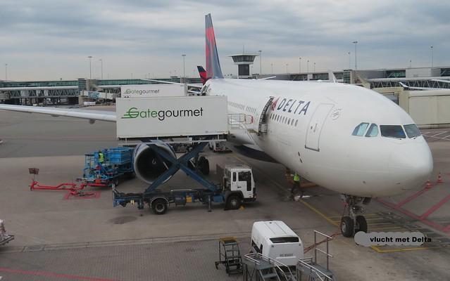 vlucht met Delta