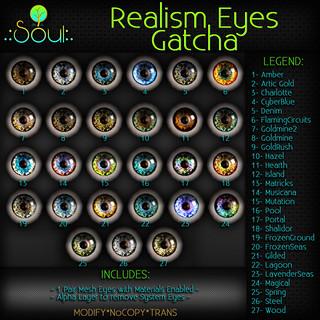 2014 RealismEyes GATCHA