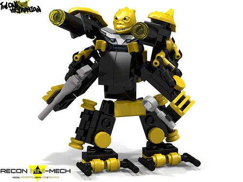 LEGO Mecha/Hardsuit - Recon Mini-Mech