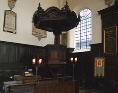 pulpit and tester