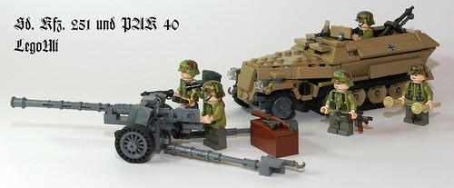 SdKfz 251 / PAK 40 by LegoUli