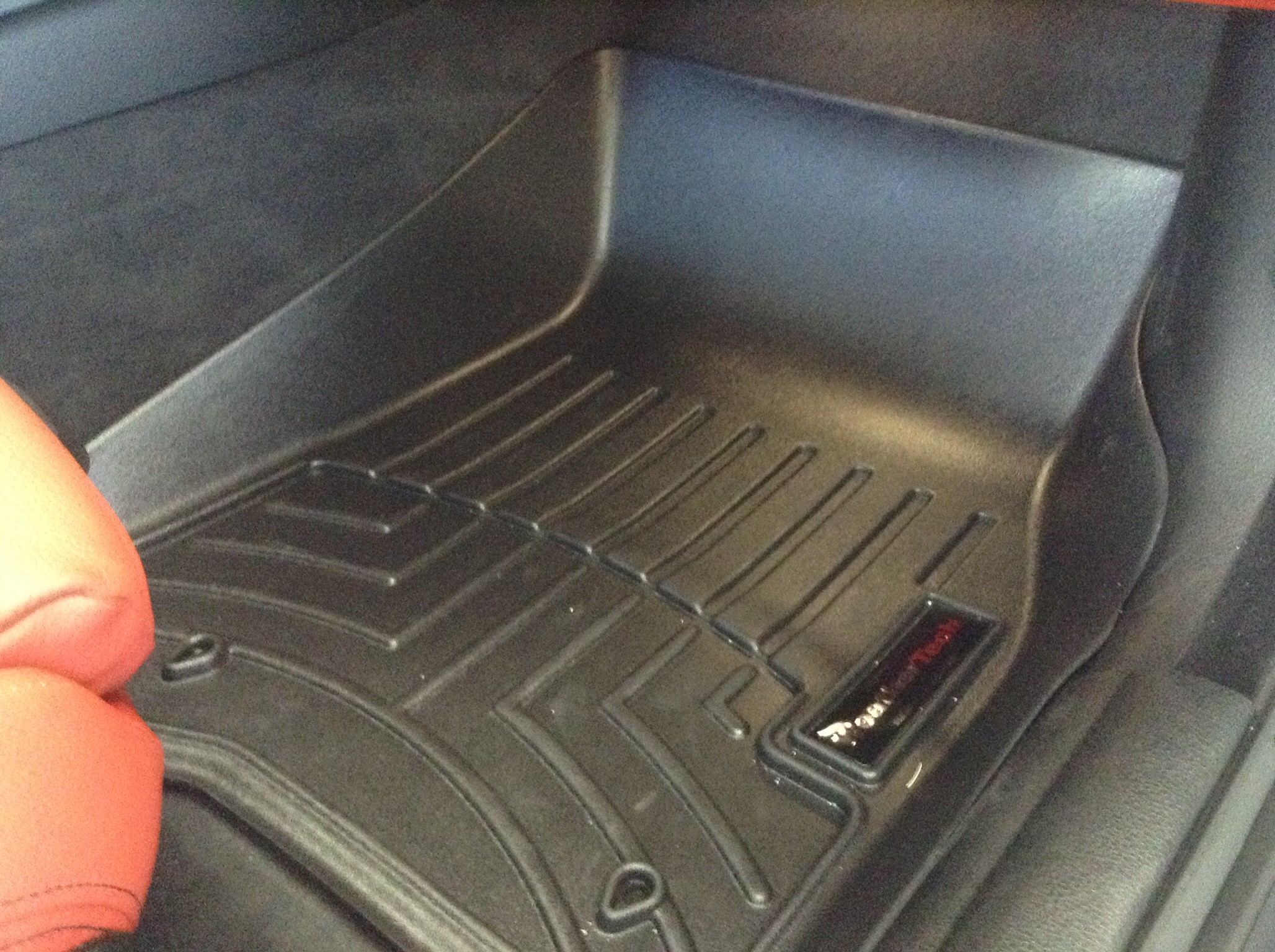 Weathertech floor mats bmw 328i - There Is The Weathertech Floorliner Digitalfit Installed In My F32 Sorry About The Poor Iphone Pix