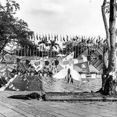 Cometas en el Parque de las Banderas