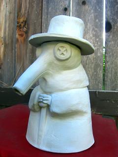 Plague Doctor Tea Pot