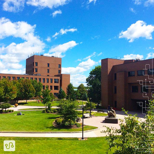 Rochester Institute of Technology | Vista da praça