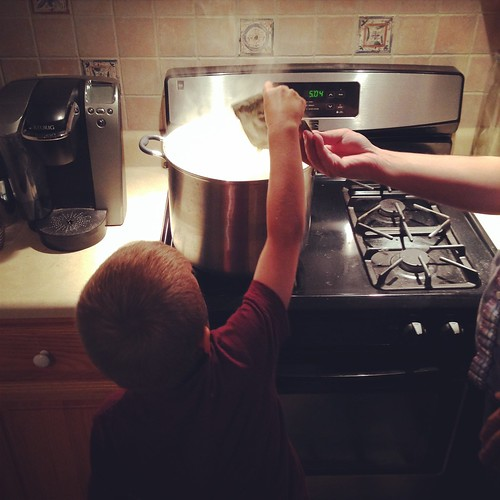 H. adds the Chinook hops...