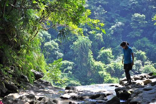猴硐越嶺三貂嶺步道-枇杷洞瀑布