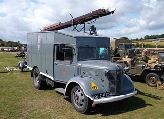 Wartime fire engine