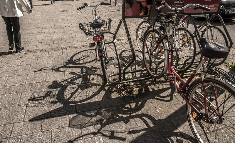 Cologne Bicycle Chaos