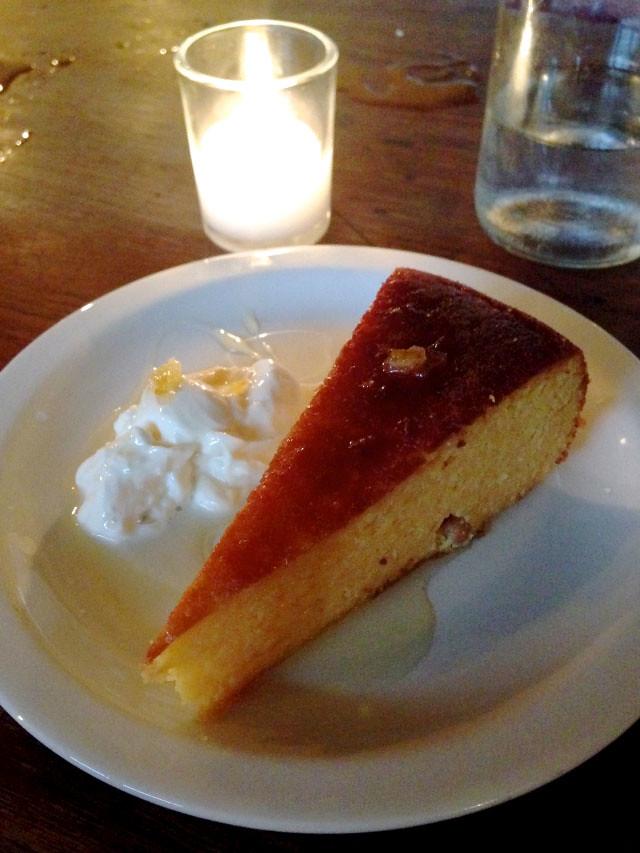 Polpo Flourless Orange & Almond Cake