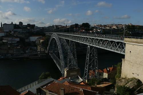 Ponte Luiz I dal lato di Gaia