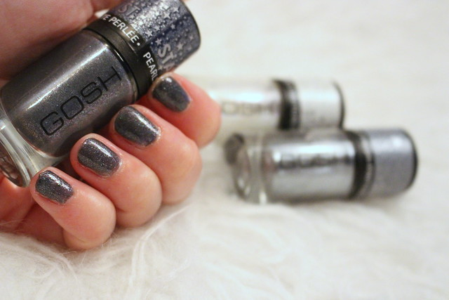 GOSH Autumn Winter Nail Lacquers Stardust 2014