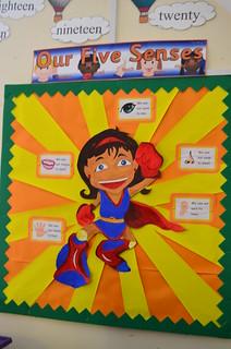 Year 1 classroomo display
