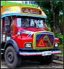 Camions de thé