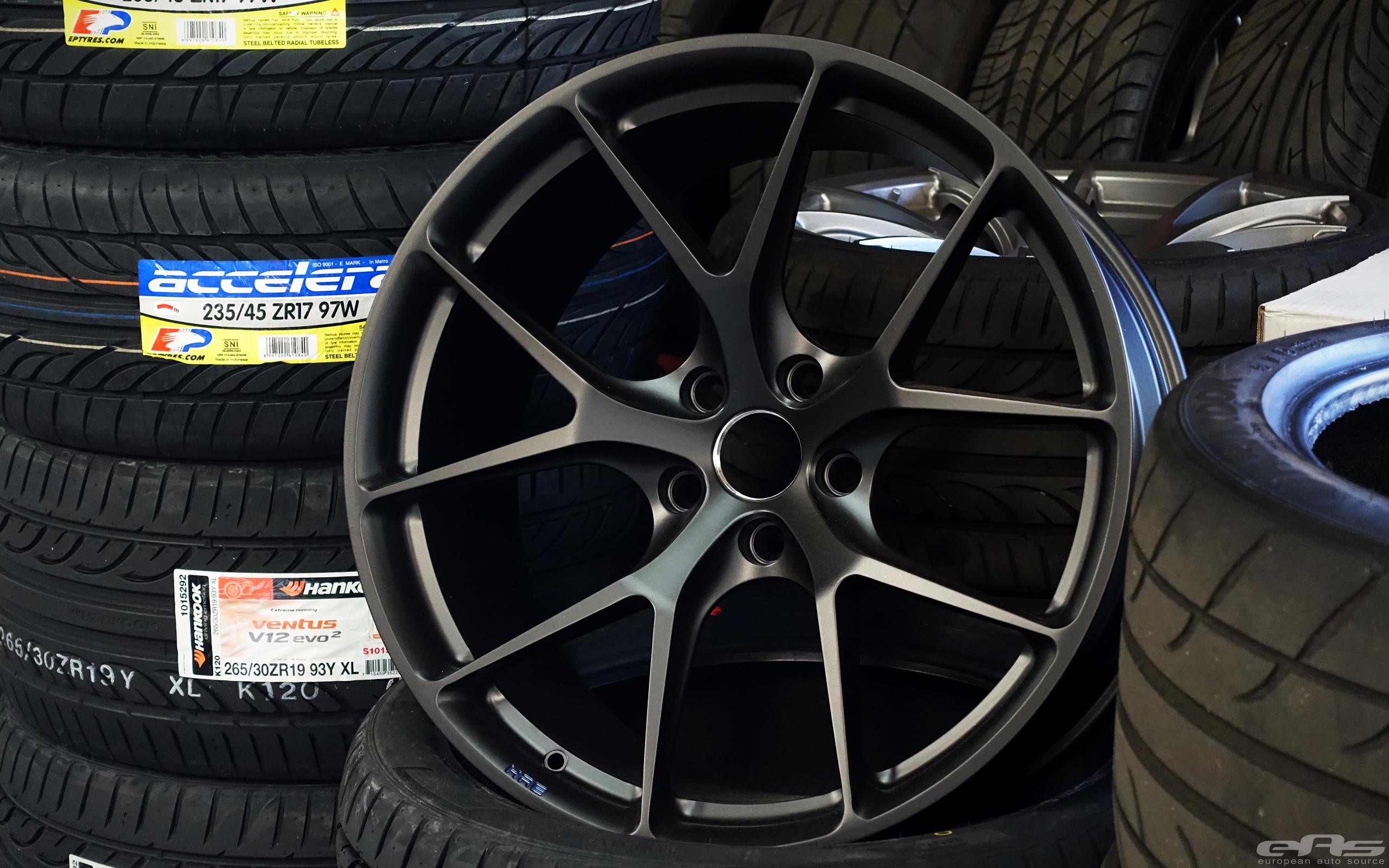 Mini Cooper Sportster >> Matte Black HRE Wheels for a Black Sapphire M4 | BMW Performance Parts & Services