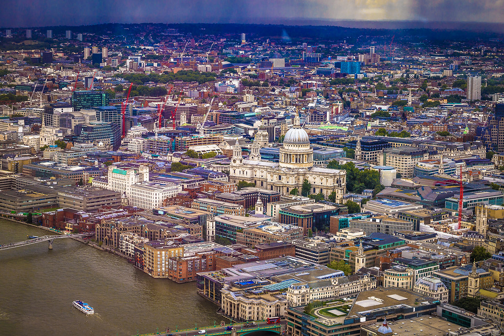 City and the river Thames
