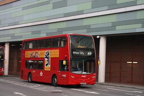 Abellio London 2463 on Route 49, White City Bus Station
