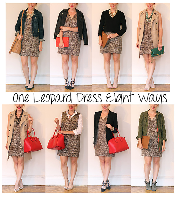 Leopard Dress Eight Ways