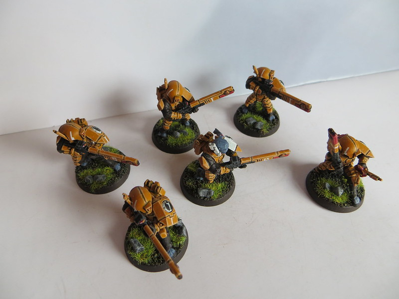 Tau Fire Warrior Team I