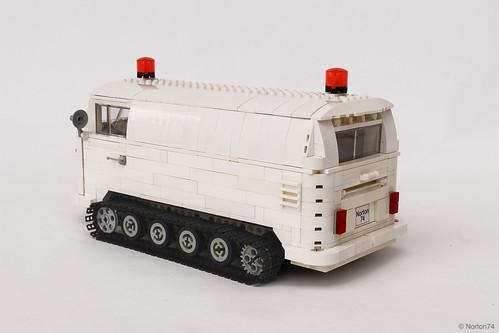 VW T1 Snowcat Adventuremobile