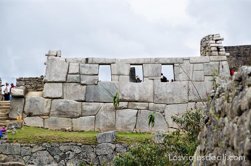 templo de las tres ventanas de Machu Picchu