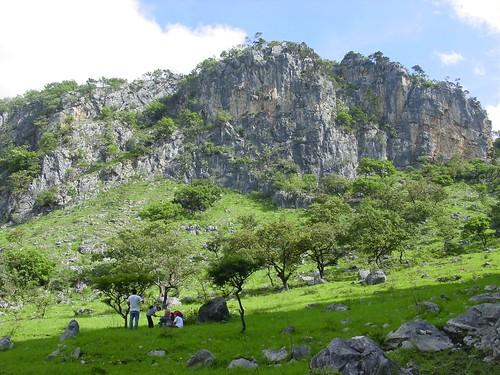 Sinkhole country Guatemala
