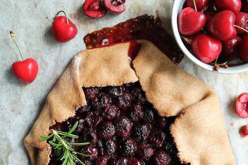 Recette de tarte rustique aux cerises