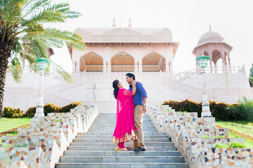 Keerthi & Dhiraj – Photoshoot at the Ramoji Film City