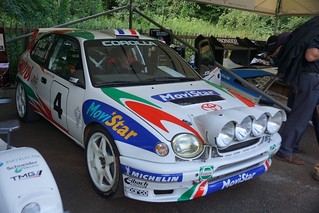 Toyota Corolla WRC 2.0-litre Turbocharged 4-Cylinder 1998, Ultimate Rally Cars (2)