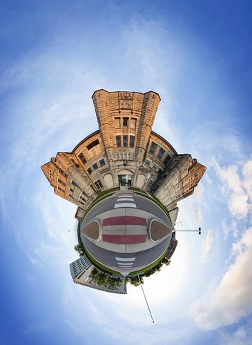 "Notley ""Notley Hawkins"" 10thavenue ""Missouri Photography"" ""Notley Hawkins Photography"" pano 360 planet ""little planet"" 2014 clouds sky ""cloudy sky"" PTgui ""Flexify 2"" September ""Jefferson City"" Missouri ""Cole County Missouri"" architecture ""Sigma 8 MM"" ""Missouri State Penitentiary"" prison ""old prison"" ""The Walls"""