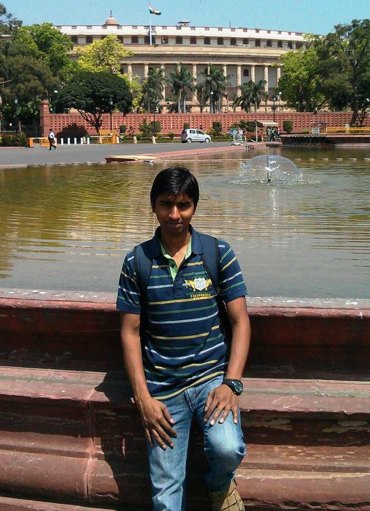 CAPF Topper Rahul Raja
