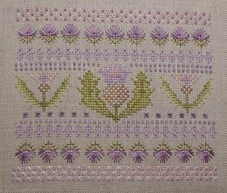 M Designs-Thistle Needleroll pastels