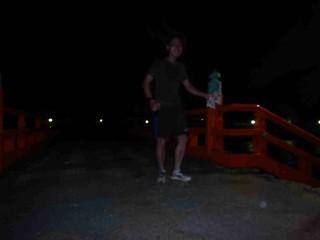 走る僕と朝霧橋
