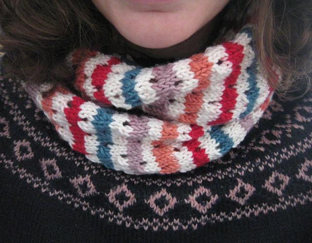 hoop scarf