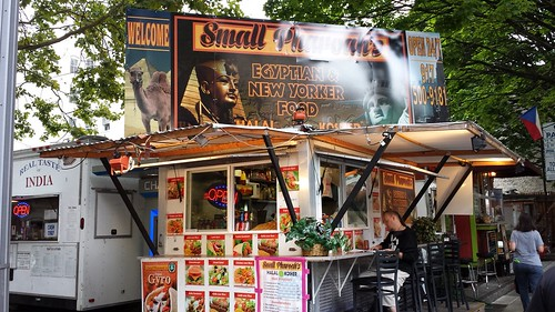 Egyptian food cart Portland