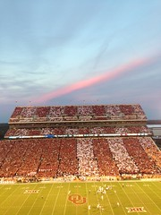 OU-Tennessee striped stadium