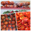 A peck of Roma tomatoes, now in the freezer for winter soups and such. :)