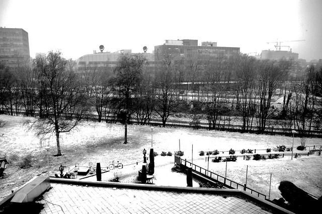 Nijmegen e la neve