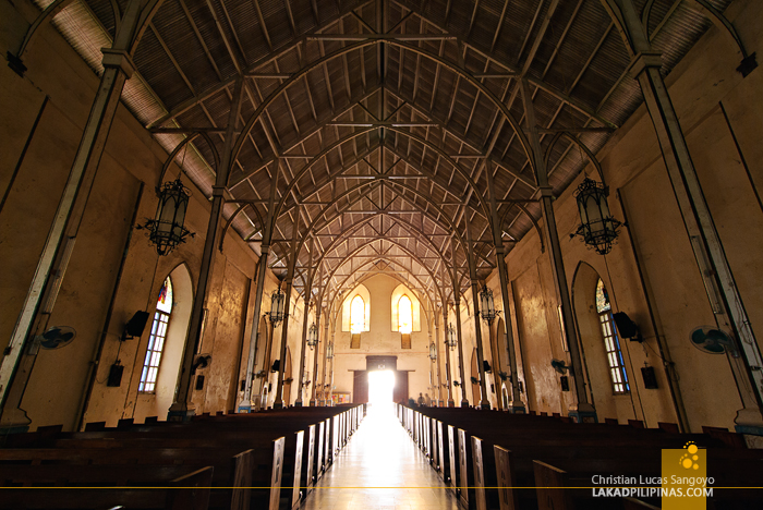 Bantay Church Interior