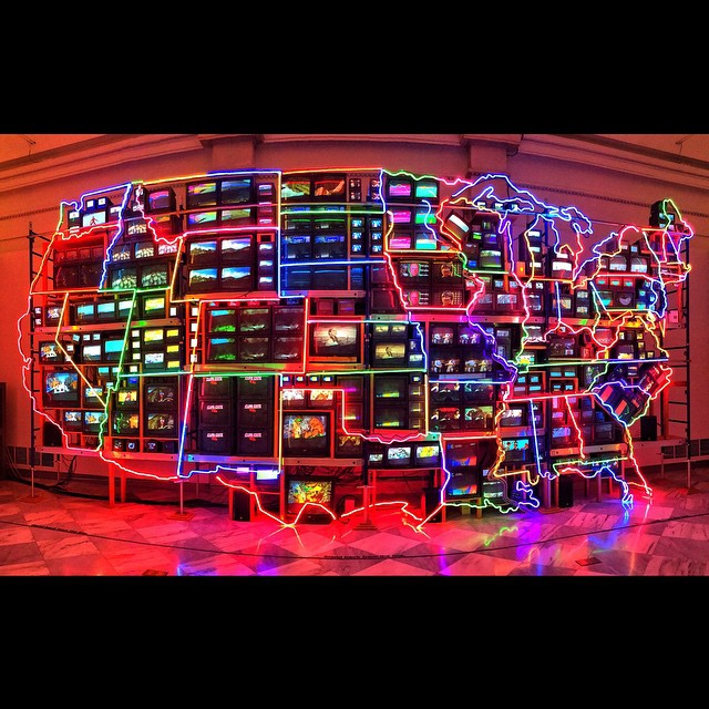 Nam June Paik #washingtonDC #iphoneonly #DC #America