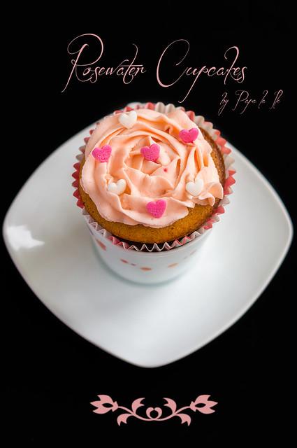 Rosewater Cupcakes (10)
