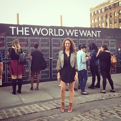 Congrats @heyamberrae on The World We Want launch! #DAF14