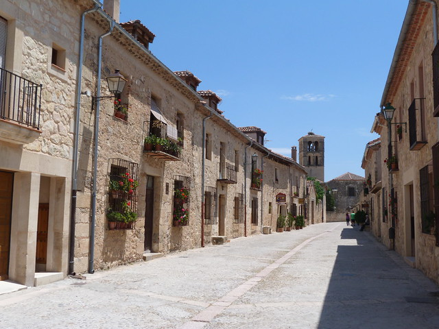 Calle Real de Pedraza (Segovia)