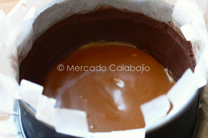 TARTA DE GANACHE DE CHOCOLATE CON CARAMELO SALADO-7