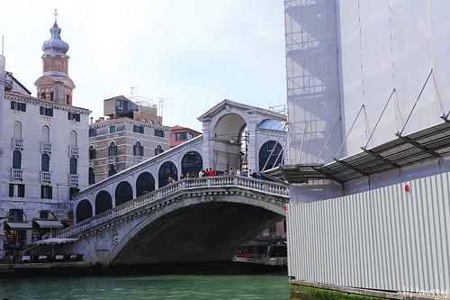Venezia : Ponte di Rialto