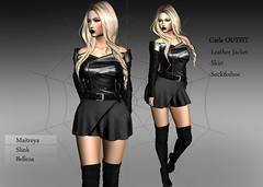 -Sentinus-Carla Jacket Skirt Sock&Shoe OUTFIT