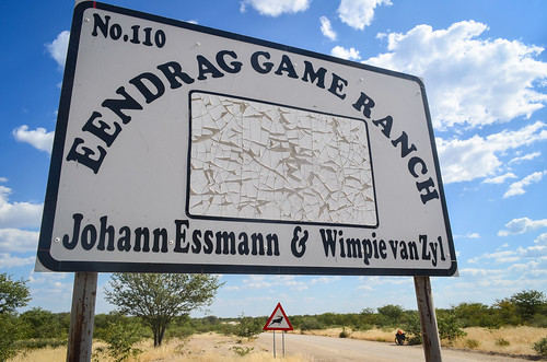 Game ranch in Namibia