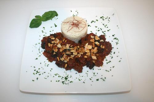 51 - Khoresht e sardalu wa alu - Serviert / Served